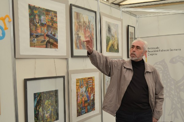 Expoziție de pictură germană la Chișinău. VIDEO